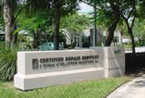 Certified Repair Services, Division of Kellstrom Industries, Weston, Florida